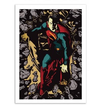 Art-Poster 50 x 70 cm - Super steel - Vee Ladwa