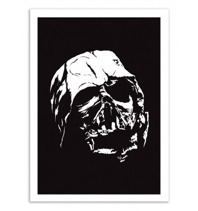 Art-Poster 50 x 70 cm - The dark side - Vee Ladwa