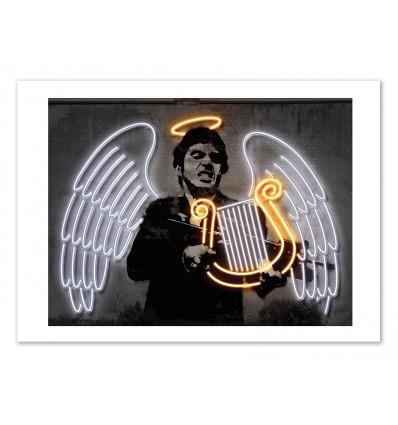 Art-Poster 50 x 70 cm - Edition 50 ex. - Fallen Angel - Octavian Mielu