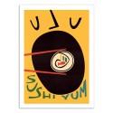 Art-Poster - Yum Sushi - Fox and Velvet