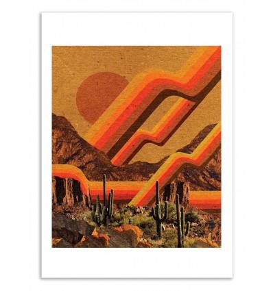 Art-Poster 50 x 70 cm - Desert Solar - Kris Tate