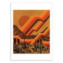 Art-Poster - Desert Solar - Kris Tate
