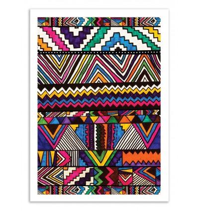 Art-Poster 50 x 70 cm - Tecpannn - Kris Tate