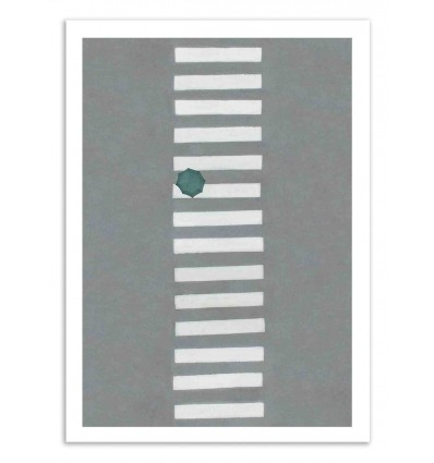Art-Poster 50 x 70 cm - Streetwalk - Marcus Cederberg