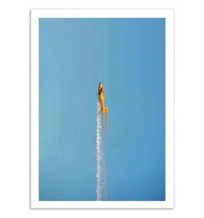 Art-Poster 50 x 70 cm - Flybye - Marcus Cederberg