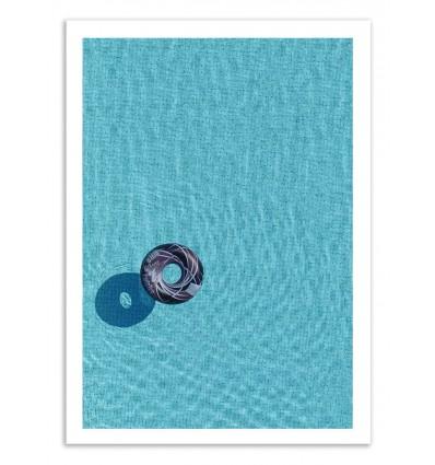 Art-Poster 50 x 70 cm - Pool - Marcus Cederberg