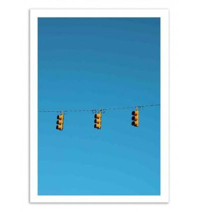 Art-Poster 50 x 70 cm - Stop - Marcus Cederberg