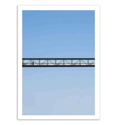 Art-Poster 50 x 70 cm - Walk in the sky - Marcus Cederberg