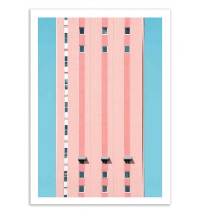 Art-Poster 50 x 70 cm - Funkytown - Marcus Cederberg