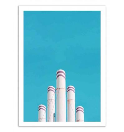 Art-Poster 50 x 70 cm - F-Sign - Marcus Cederberg