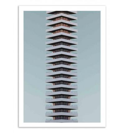 Art-Poster 50 x 70 cm - Tower of power - Marcus Cederberg