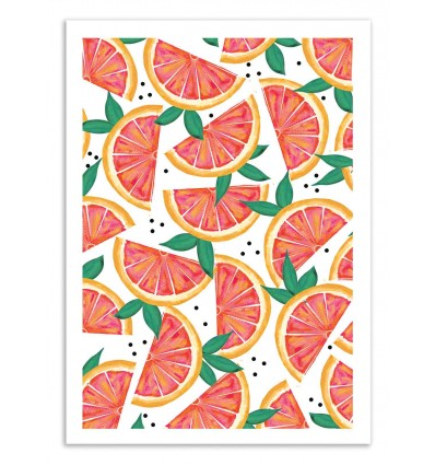 Art-Poster 50 x 70 cm - Citrus surprise - 83 Oranges