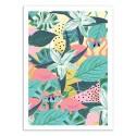 Art-Poster - Flamingo Tropical - 83 Oranges