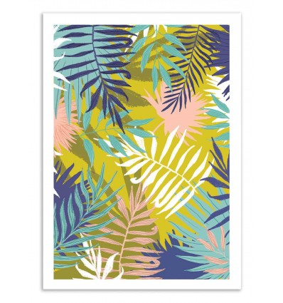 Art-Poster 50 x 70 cm - Vie de palme - 83 Oranges