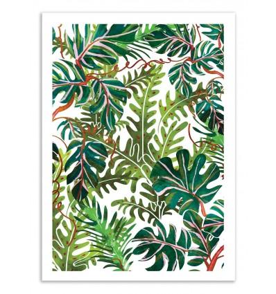 Art-Poster 50 x 70 cm - Wild Spirit - 83 Oranges