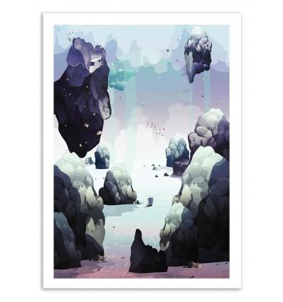 Art-Poster 50 x 70 cm - Beyond - Noel del Mar