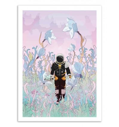 Art-Poster 50 x 70 cm - Collecting samples - Noel del Mar