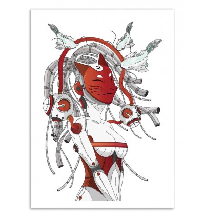 Art-Poster 50 x 70 cm - Stravaganza - Noel del Mar
