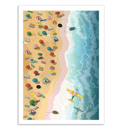 Art-Poster 50 x 70 cm - Summer days - Noel del Mar
