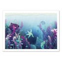 Art-Poster - Deep down in the water - Noel del Mar