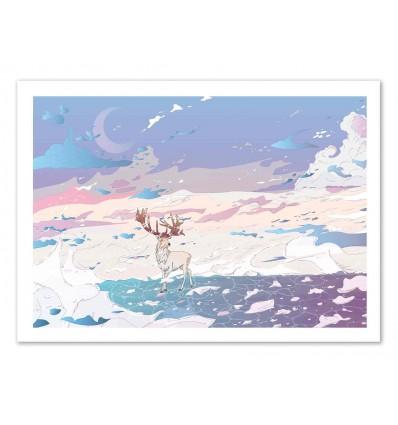 Art-Poster 50 x 70 cm - Winter dreams - Noel del Mar