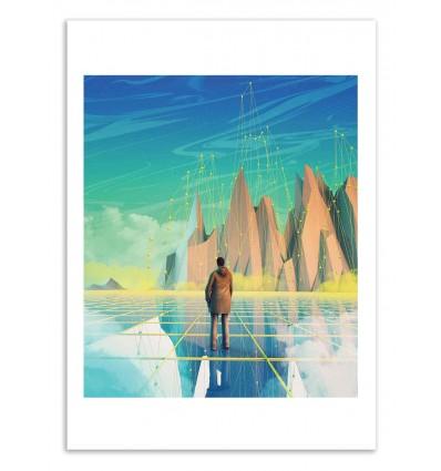 Art-Poster 50 x 70 cm - Still asleep - Shorsh