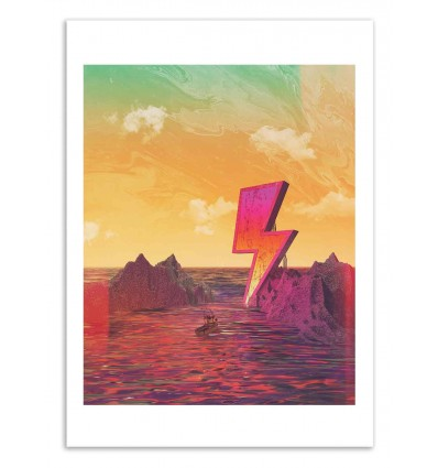 Art-Poster 50 x 70 cm - Thunder Bay - Shorsh
