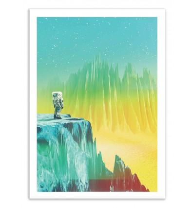 Art-Poster 50 x 70 cm - Vekigo - Shorsh