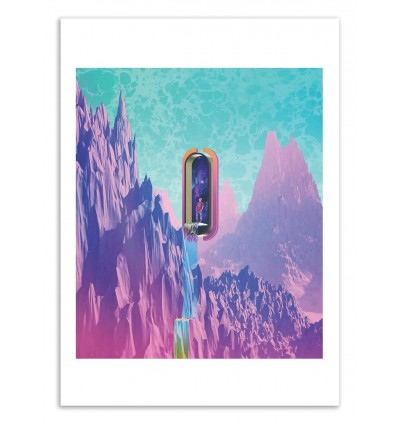 Art-Poster 50 x 70 cm - Cosmic Drain - Shorsh