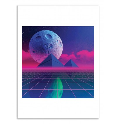 Art-Poster 50 x 70 cm - Hitzone 84 - Shorsh