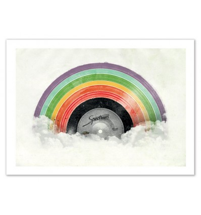 Art-Poster - Vinyle Spectrum