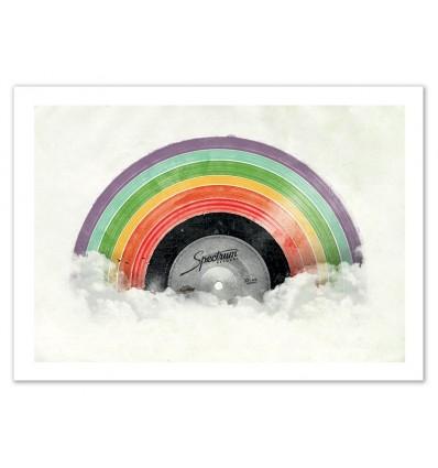 Art-Poster 50 x 70 cm - Vinyle Spectrum