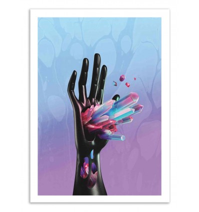 Art-Poster 50 x 70 cm - Mystic - Shorsh