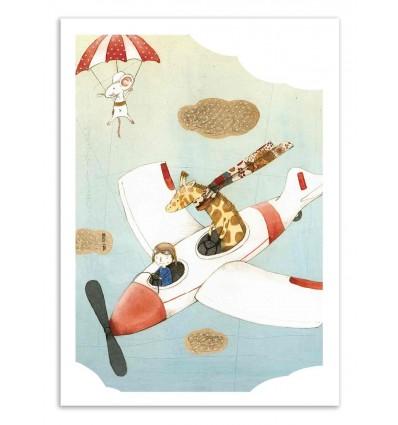 Art-Poster 50 x 70 cm - Fly - Judith Loske