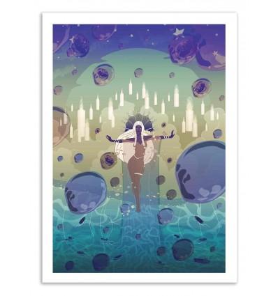 Art-Poster 50 x 70 cm - Yemanya - Noel del Mar