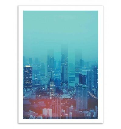 Art-Poster 50 x 70 cm - Nightcity - Shorsh