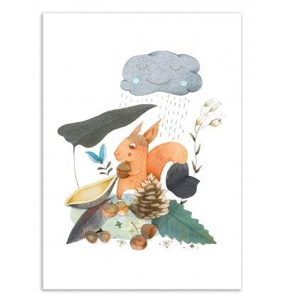 Art-Poster 50 x 70 cm - Dear Autumn - Judith Loske