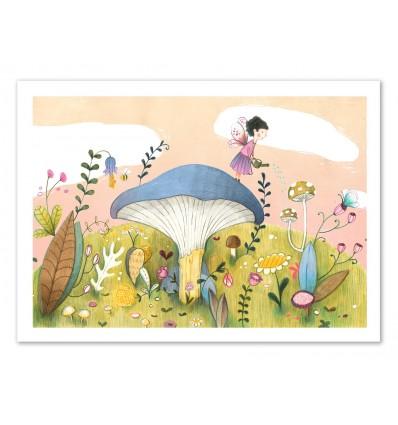 Art-Poster 50 x 70 cm - Gardening - Judith Loske