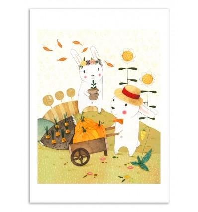 Art-Poster 50 x 70 cm - Harvest - Judith Loske