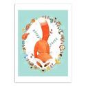 Art-Poster - Sleeping Forest - Judith Loske
