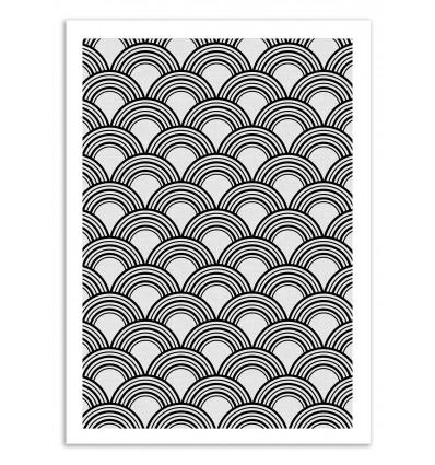 Art-Poster 50 x 70 cm - Art Deco - Kookie Pixel