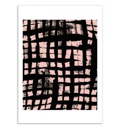 Art-Poster 50 x 70 cm - Check - Kookie Pixel