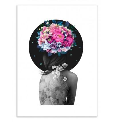Art-Poster 50 x 70 cm - Infinity of bloom - Valeriya Korenkova