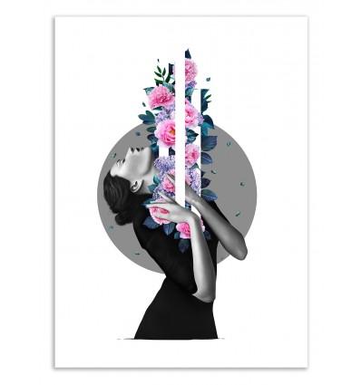 Art-Poster 50 x 70 cm - Inside me - Valeriya Korenkova