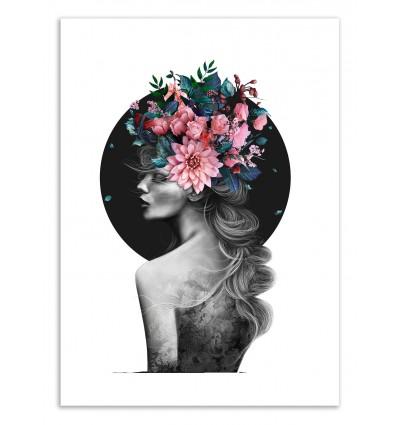 Art-Poster 50 x 70 cm - Spring soul - Valeriya Korenkova