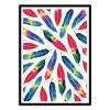 Art-Poster 50 x 70 cm - Exotic parrot - Amaya Brydon