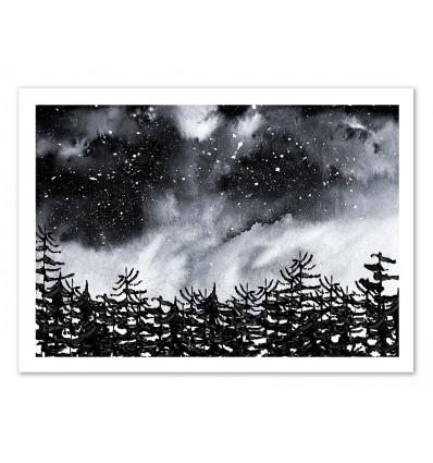 Art-Poster 50 x 70 cm - Lost - Amaya Brydon