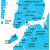 Carte New-York City - Olivier Bourdereau