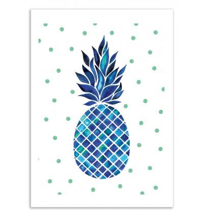 Art-Poster 50 x 70 cm - Maritime Pineapple - Amaya Brydon