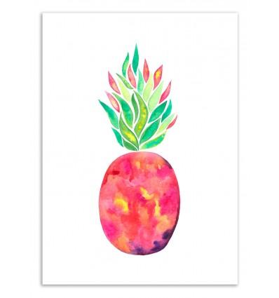 Art-Poster 50 x 70 cm - Pineapple Flare - Amaya Brydon